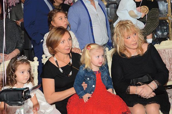 Алла Пугачева с дочерью Лизой
