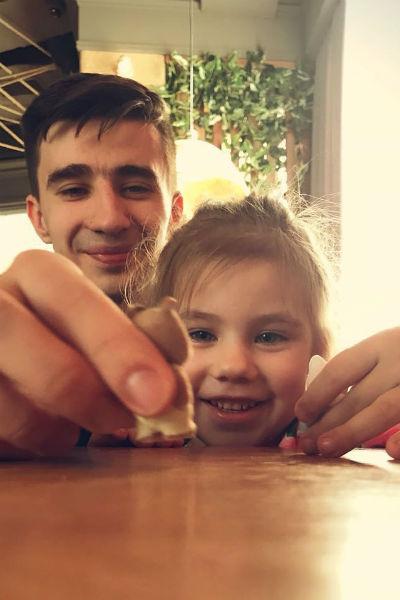 Андрей обожал четырехлетнюю дочку