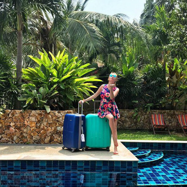 Дарье наконец-то привезли все чемоданы