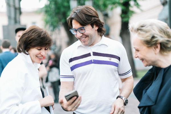 Андрей Малахов посетил мероприятие
