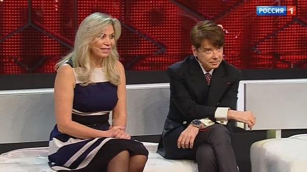 Валентин Юдашкин с любимой супругой Мариной