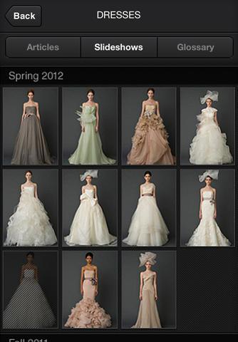 Установка приложения Vera Wang on Weddings – бесплатно.