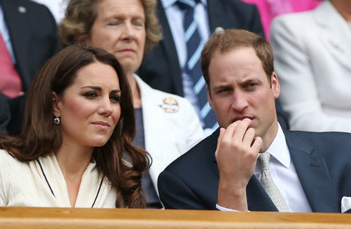 Кэтрин Миддлтон и принц Уильям