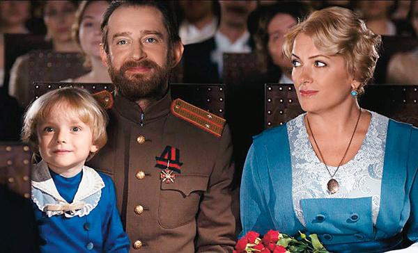 В картине «Елки 1914» партнерами Даниила были Константин Хабенский и Мария Порошина