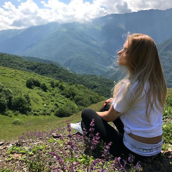 Лиза Пескова осталась довольна поездкой в Чеченскую республику