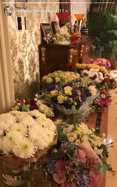 Цветы, которые подарили Наталье Тюльпановой