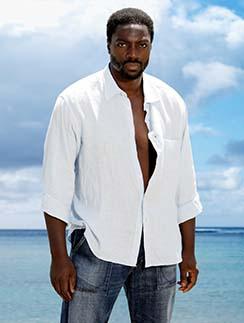 Актера Адевале Акинойе-Агбаже зрители знают, как мистера Эко