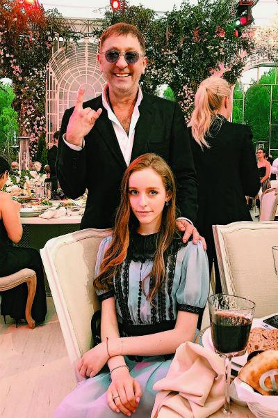 Григорий Лепс с дочерью