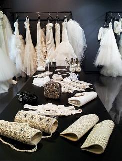 Интерьер бутика свадебного и вечернего платья