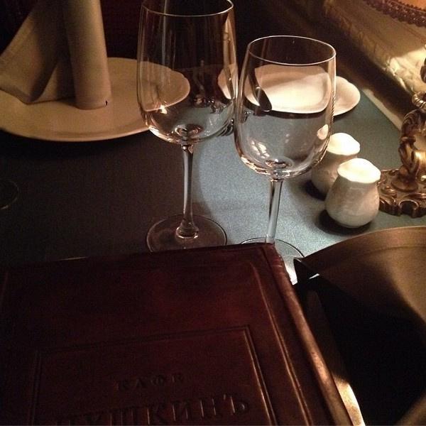 Фото из ресторана, где Рита и Павел провели романтический свадебный ужин