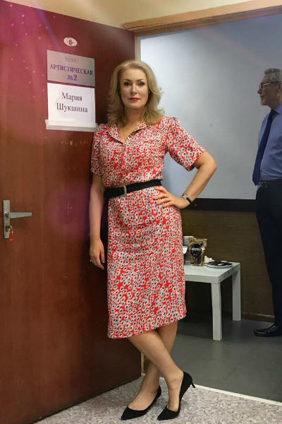Мария Шукшина работает на ТВ много лет