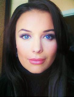«Таких глаз у меня еще не было», - подписала фото Оксана