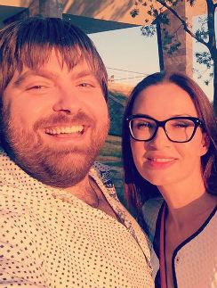 Эвелина Бледнас с мужем Александром Семиным