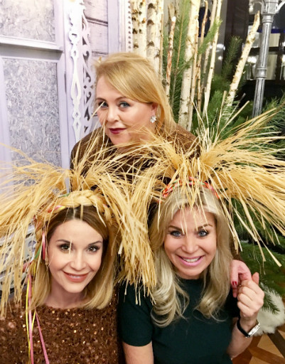 Марина Юдашкина, Ольга Орлова и Тамара Шкулева