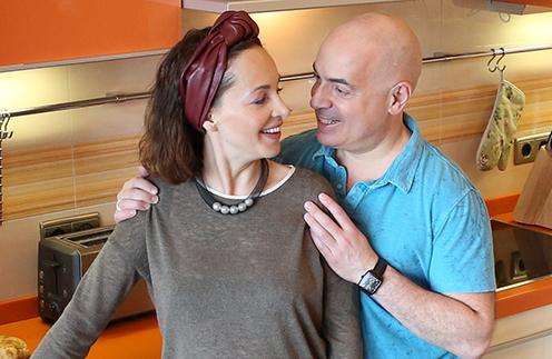 Михаил Грушевский с женой