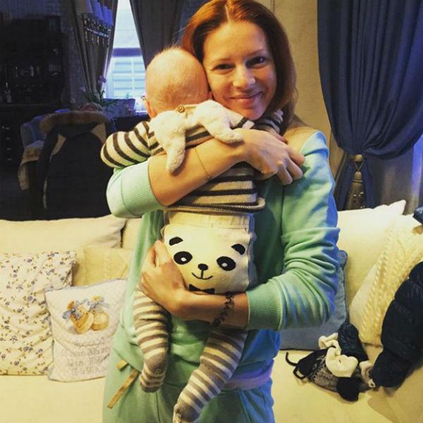 Сейчас Наталья проводит все время с сыном