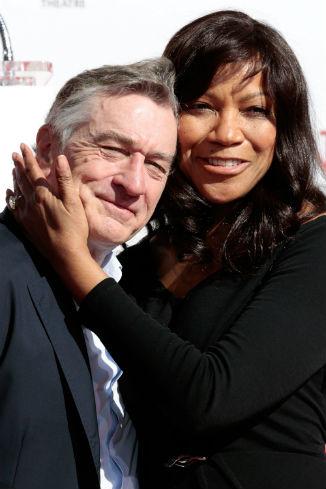 Де Ниро с супругой Грейс Хайтауэр