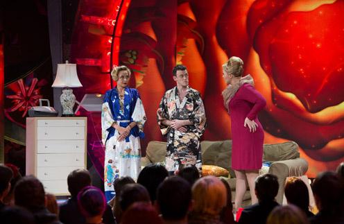 Александр Волохов на сцене Comedy Woman