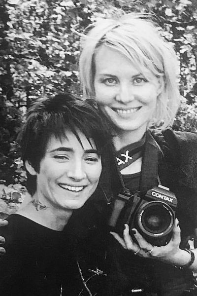 Рената Литвинова является не только подругой, но и музой Земфиры