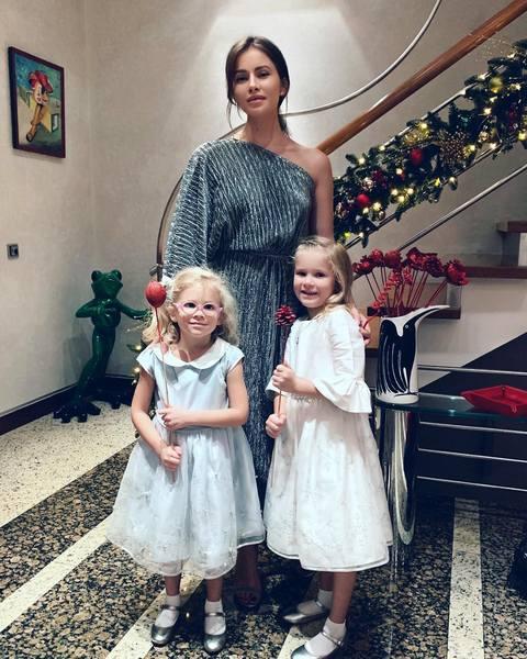 Тата Бондарчук с дочками