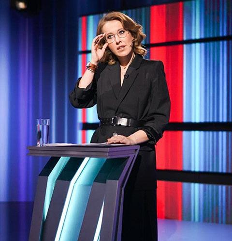 Ксения Собчак заговорила о работе на Первом канале