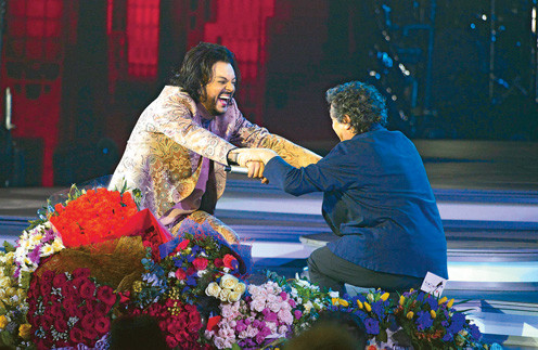 Франко Драгоне певец считает одним из главных людей в своей жизни