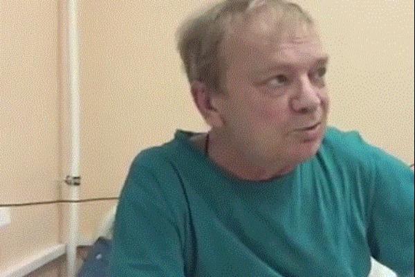Николай Годовиков за несколько недель до смерти