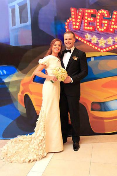 Юлия Савичева с мужем Александром