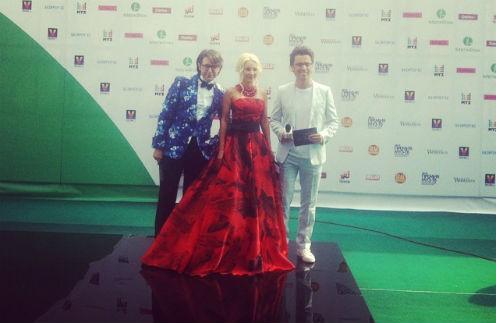Андрей Малахов, Лера Кудрявцева и Максим Галкин встречают гостей
