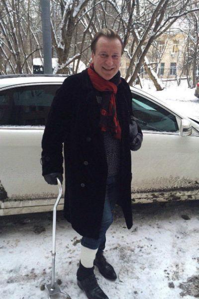 Сергей возвращается на сцену, несмотря на травму