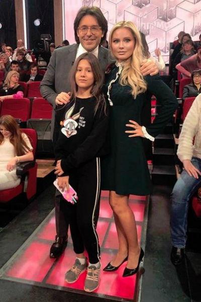 Недавно Борисова с дочерью побывала на съемках программы Андрея Малахова