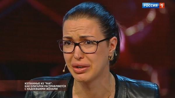 В финале программы Алина не смогла сдержать эмоций