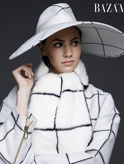 Внучка Одри Хепберн в фотосессии для модного журнала