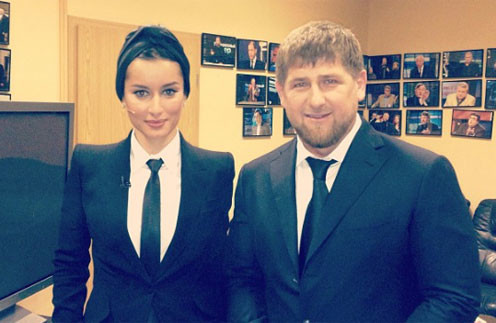 Тина Канделаки и Рамзан Кадыров - давние друзья