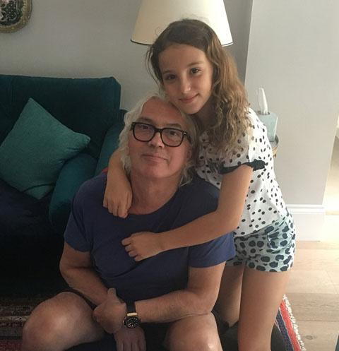 Дмитрий Хворостовский с дочерью Ниной