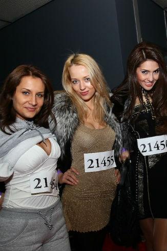 Участницы кастинга проекта «Хочу в ВИА ГРу!»