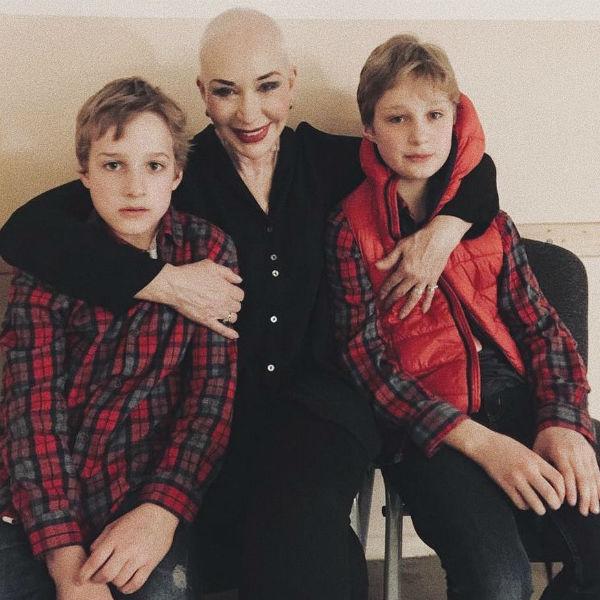 Татьяна Васильева и ее внуки из Германии
