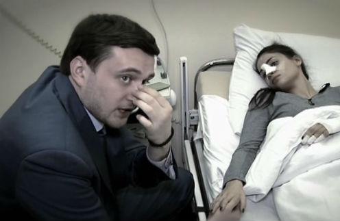Общественный деятель и друг Ксении Павел Пятницкий поддержал любимую после нападения Любомского