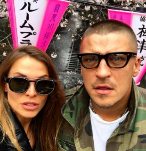 Антон Беляев с супругой Юлией