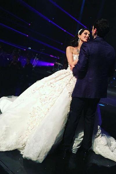 Анна Елашвили с женихом