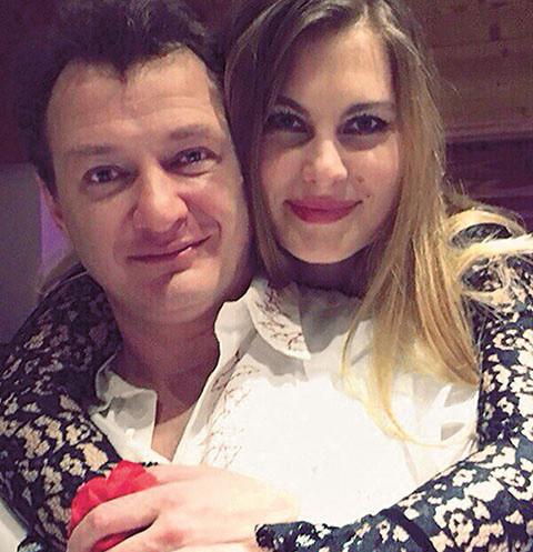 Марат Башаров с супругой Елизаветой