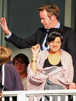 Лили Аллен с мужем Сэмом Купером