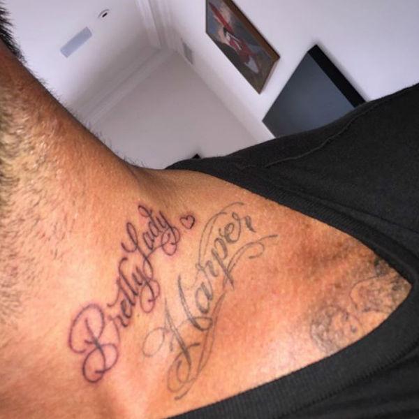 Дэвид Бекхэм сделал новое тату