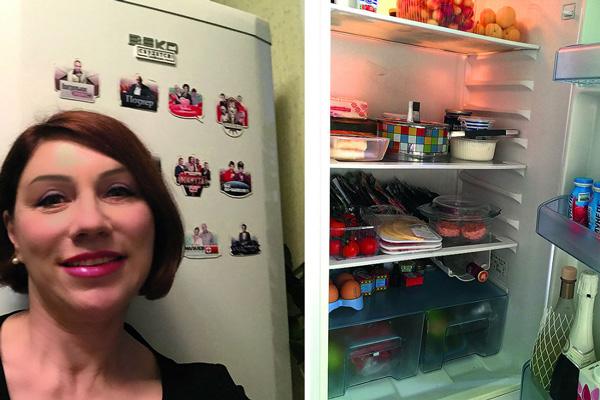 Роза признается, что ей лень готовить – чаще она питается в кафе и ресторанах