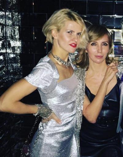Полина Киценко и Светлана Бондарчук