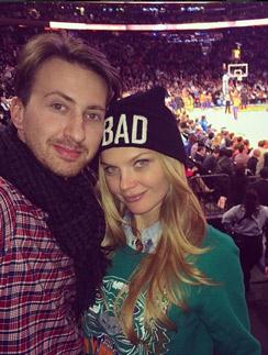 Лена Кулецкая с женихом Станиславом на отдыхе в Нью-Йорке