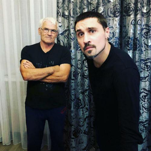 Дима Билан находится в теплых отношениях с отцом