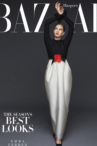 Эмма Феррер на обложке журнала