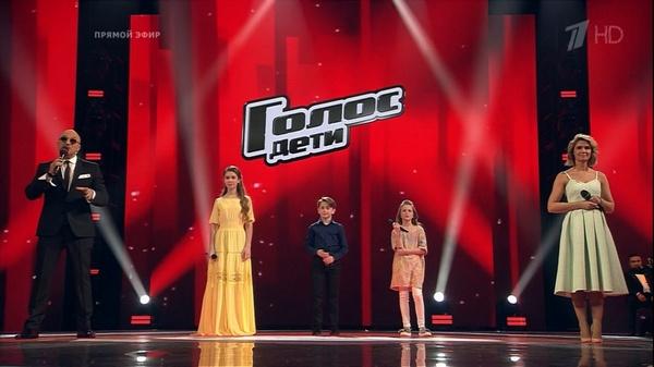 Финальная тройка конкурсантов