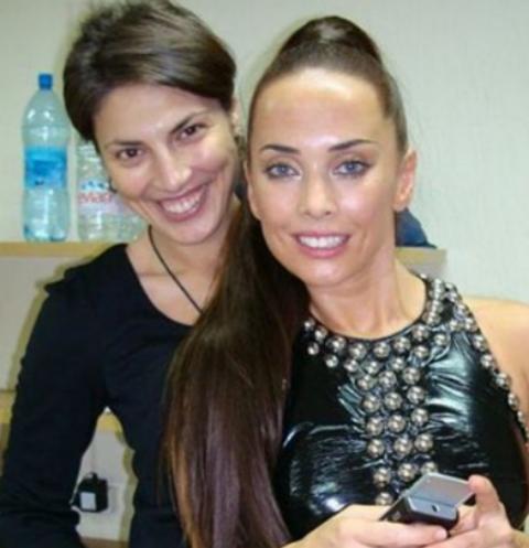 Оксана Степанова и Жанна Фриске